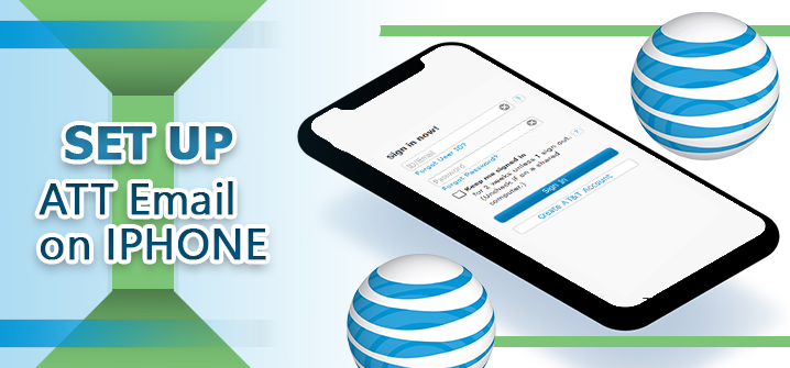 How to Set up ATT Email on iPhone?
