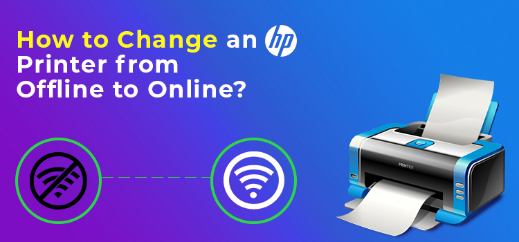 How to Change an HP Printer from Offline to Online?